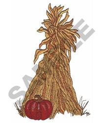PUMPKIN & HAYSTACK embroidery design