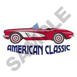 American classic coupe embroidery designs machine for American classic design
