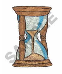 HOUR GLASS embroidery design
