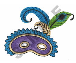 PARTY MASK embroidery design