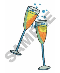 CLINK! embroidery design