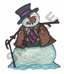 FROSTY embroidery design