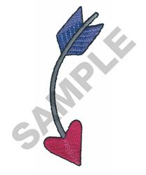 CUPIDS ARROW embroidery design