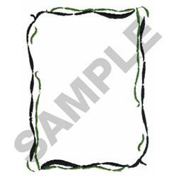 TOPIARY BORDER embroidery design