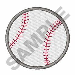 Small Baseball embroidery design