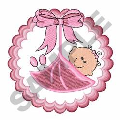 New Baby Girl embroidery design