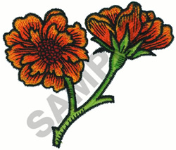 TOLE FLOWER embroidery design