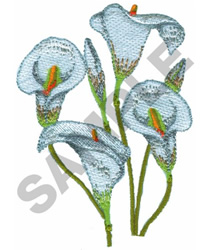 CALLA embroidery design