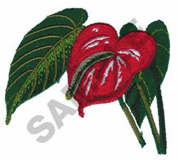 FLAMINGO FLOWER embroidery design