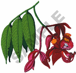 FLAME AMHERST embroidery design