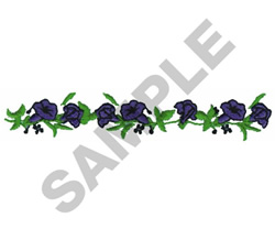 FLORAL HEIRLOOM BORDER embroidery design