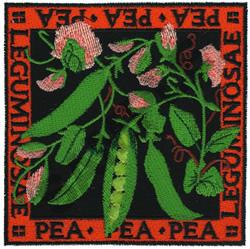 PEA embroidery design