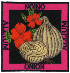 ONION embroidery design