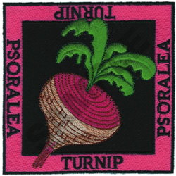 TURNIP embroidery design
