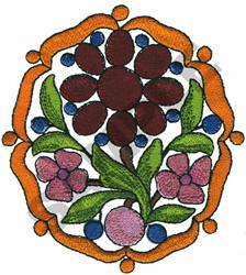 BAROQUE CARTOCHE embroidery design