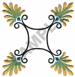 MEXICAN TOLEART embroidery design