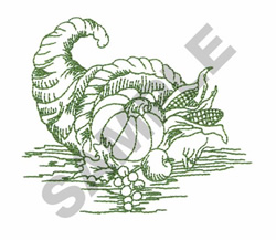 CORNUCOPIA TOILE embroidery design
