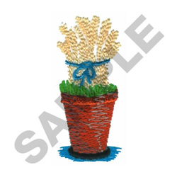 TOPIARY DESIGN embroidery design