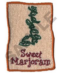 SWEET MARJORAM embroidery design