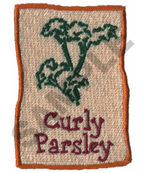 CURLY PARSLEY embroidery design