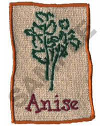 ANISE embroidery design