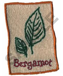 BERGAMOT embroidery design