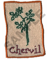 CHERVIL embroidery design