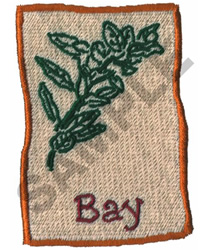 BAY embroidery design