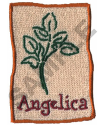 ANGELICA embroidery design