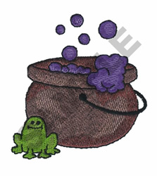 CALDRON & MAIN INGREDIENT embroidery design