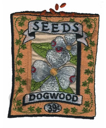 DOGWOOD embroidery design