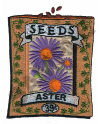 ASTER embroidery design