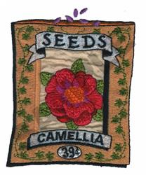 CAMELLIA embroidery design