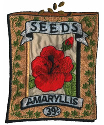 AMARYLLIS embroidery design