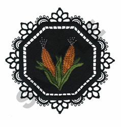 GARDEN LACE CORN embroidery design