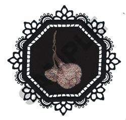 GARDEN LACE GARLIC embroidery design
