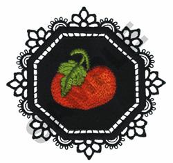 GARDEN LACE PUMPKIN embroidery design