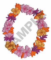 LEI embroidery design