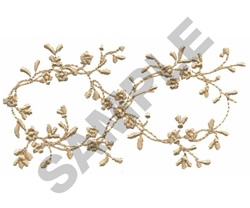 Floral Bunch embroidery design