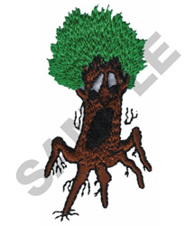 ANIMATED TREE embroidery design