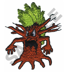 FUNNY TREE embroidery design