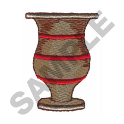 VASE embroidery design