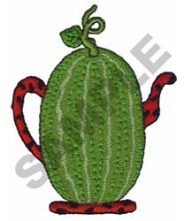 WATERMELON TEAPOT embroidery design