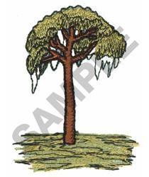 SWAMP TREE embroidery design
