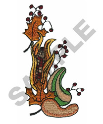 FALL SCENE embroidery design