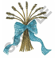 WHEAT BOUQUET embroidery design