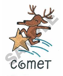 COMET embroidery design