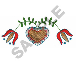 SWISS FOLK ART embroidery design