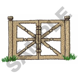 GATE embroidery design