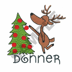 DONNER embroidery design